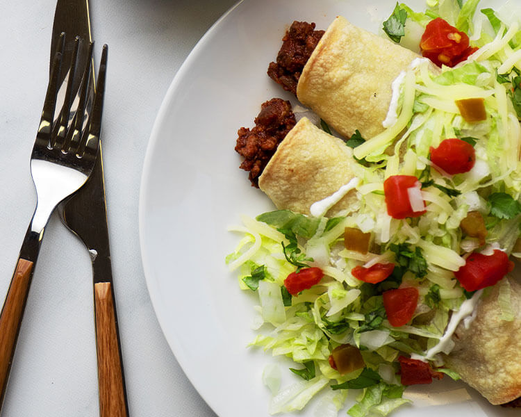Crispy Rolled Beef Tacos
